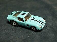 AURORA TJET TORQUOISE FERRARI 250 GTO HO SLOT CAR