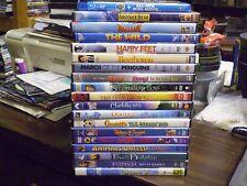 (20) Childrens Animal DVD Lot: Disney Brother Bear Hop Happy Feet Shrek Valiant