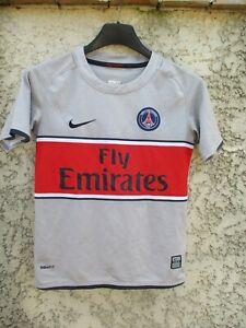 Maillot PSG PARIS SAINT-GERMAIN 2009 away shirt collection NIKE gris 6 8 ans