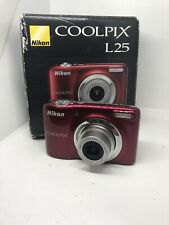 Nikon Coolpix L25 10.1 Megapixels Digital Camera HD 720P Video Recording