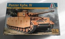 TOY SOLDIERS ITALERI PANZER KPFW.IV N.7007 GREEN BOX 1/72