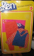1975 KEN BEST BUY FASHIONS (RED PANTS, BLUE & RED TOP) ITEM #2243 - NEW IN PKG