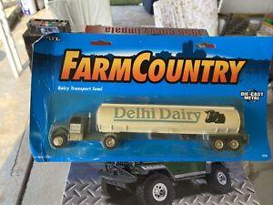 Delhi Dairy Transport Truck Diecast ERTL Farm Country Rare