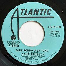 DAVE BRUBECK ~ BLUE RONDO A LA TURK ~ ATLANTIC PROMO 45rpm ~ NEW NEVER PLAYED