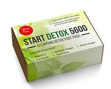 Start detox 5600. Cleansing detox foot pads