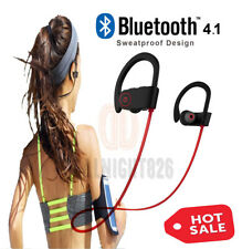 Waterproof Bluetooth Earbuds Beats Sports Wireless Headphones Stay in Ear Design