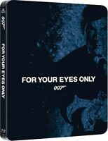 For Your Eyes Only Limited Edition SteelBook 007 [Blu-ray + Digital, 1-Disc] NEW