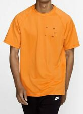 $65 Nike Sportswear Tech Pack Top Shirt Bv4441-886 Kumquat/Black Lt/L-Tall