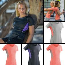 Women's T-Shirt  Fitness Tech Panel Mart T-Shirt  Yoga , Jogging , Sportswear .