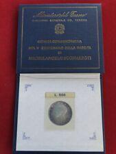 REP. ITALIANA 500 LIRE ARGENTO 1975 MICHELANGELO BUONARROTI FDC