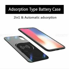 External Battery Charger Case Battery Wireless Charging Case for iPhone 8 Plus X