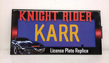 2012 Diamond Select Knight Rider Karr License Plate Replica