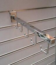 5 x handbag display stand hook for slat panel wall