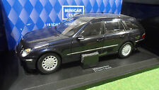 MERCEDES BENZ E-CLASS WAGON T-MODEL Bleu 1/18 KYOSHO 09004TB voiture miniature