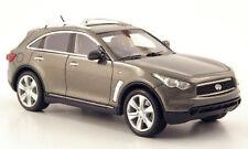 wonderful modelcar INFINITY FX50 2010 - grey metallic - scale 1/43 - ltd.ed.500