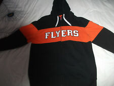 PHILADELPHIA FLYERS HOODIE.REEBOK/NHL BRAND.ADULT L-48 INCHES.EXCELLENT SHAPE,