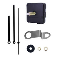 Wall Clock Movement Mechanism Black Replacement Part Set Professional Kit
