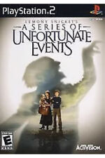 Lemony Snicket's A Series of Unfortunate Events Ps2 Playstation 2 Kids Game