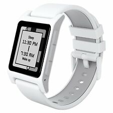 Pebble 2 + Heart Smartwatch for Apple or Android WHITE Smart Time Watch New