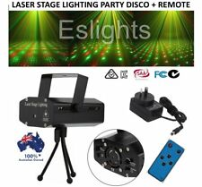 REMOTE MINI LASER PROJECTOR LIGHT PARTY DISCO DJ FLASHING LIGHTING