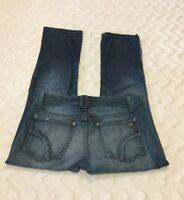 Women's Joe's Jeans Denim Light Wash Cropped Honey Kicker Size 25