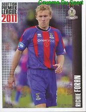 294 r. Foran ireland inverness ct sticker scottish premier league 2011 panini