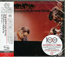 BILL EVANS WITH JEREMY STEIG-WHAT'S NEW-JAPAN SHM-CD C94