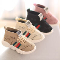 Kids Baby Boys Girls Trainers Shoes Sneakers Infant Toddler Casual Sports Shoes