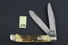 Robert Klaas, Kissing Crane, Solingen, Stag Trapper Pocket Knife 532