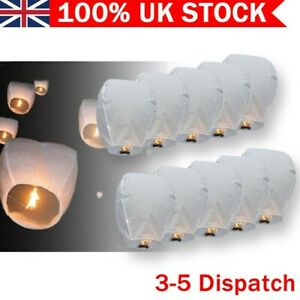 UK Lanterns Candle Lamp Kongming Lighting Flying Papers for Birthday Party