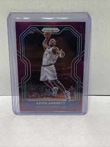 2020-21 Prizm Purple Prizms Kevin Garnett 37/99!