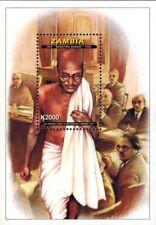 Zambia - 1998 Mahatma Gandhi 2nd Round Table Conference - Souvenir Sheet - MNH