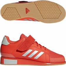 ADIDAS Adults Gym Powerlift 3 ||| Red Weightlifting Shoes AC7465  UK 12.5 EU 48