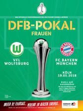 DFB-Pokalfinale 19.05.2018 VfL Wolfsburg - FC Bayern München in Köln