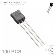 100 X 2N2222 2N2222A General Purpose BJT NPN Transistor Amplifier TO-92 - USA