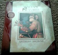 Willy's Pictures, 1st Edition, F/F, by Anthony Browne