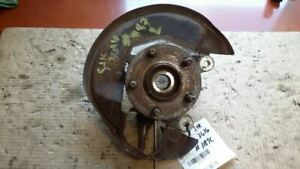 Driver Front Spindle/Knuckle Hub And Rotor With Knuckle Fits 96-99 SABLE 78252