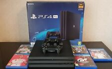 Sony Playstation PS4 Pro 1TB consola de juegos-Negro, Perfecto Estado