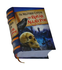 Edgar Allan Poe. Os Melhores Contos new hardcover Miniature Book in portuguese