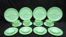 Vintage Jadeite Jadite Fire King Restaurant ware set. Minty Mint !!!! 20 Pieces