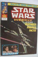 😍Star Wars 1978 marvel weekly UK Britain Comic Book Vintage #100 Darth Vader 😍