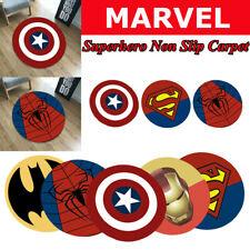 Avengers Superhero Kids Non Slip Carpet Bedroom Bathroom Mats Floor Rug Door Mat