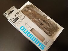 "NOS Shimano Hyperglide Chain HG50 1/2"" x 3/32"" For 6/7/8-Speed Bikes 116L *NIB"