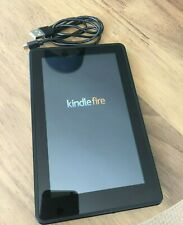 "Kindle Fire 7"" e-reader tablet WiFi 8gb black (1st Gen) WiFi excellent condition"