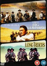 The Magnificent Seven/The Big Country/The Long Riders (DVD)