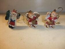 Puppenstube Kaufmannladen Accessoires Konvolut Weihnachtsdeko Baumbehang Kunstst
