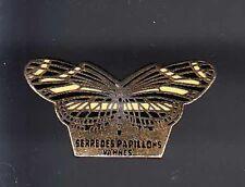 RARE PINS PIN'S .. ANIMAL PAPILLON BUTTERFLY  SERRE MUSEE ZOO VANNES 56 ~AZ