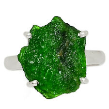 Chrome Diopside 925 Sterling Silver Ring Jewelry s.9 AR159665