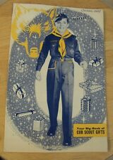 """VTG 1957 BSA Catalog~""""CHRISTMAS-CUB SCOUT GIFTS""""~Great Content~"""