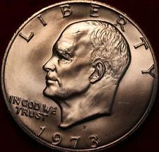 Uncirculated 1973-S San Francisco Mint Silver Eisenhower Dollar